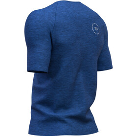 Compressport Training Mont Blanc 2019 SS T-Shirt Men blue